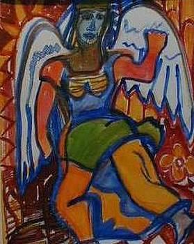 Angel In Posed by Kalikata MBula