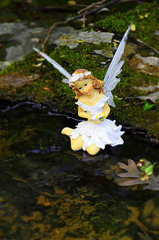 Linda Rae Cuthbertson - Angel in the Creek 1 Woodland Fairies
