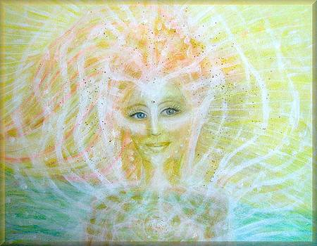 Angel of healing by Lila Violet