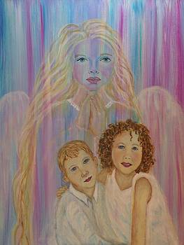 Angel Of Honesty and Trust Protecting Evie and Owen by The Art With A Heart By Charlotte Phillips