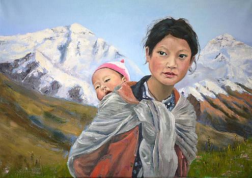 Angel of Pamir by Olga Yug