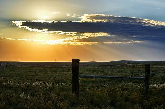 Angel Sunrise by Clarice  Lakota