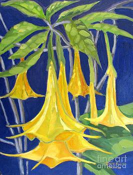 Angel Trumpets by Rhett Regina Owings