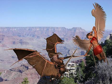Angel Vs Angel by Mike Cartwright