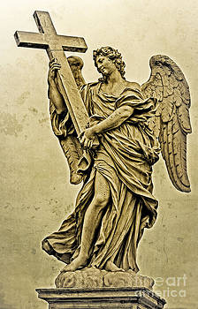 Angel with the Cross by Jaymes Williams