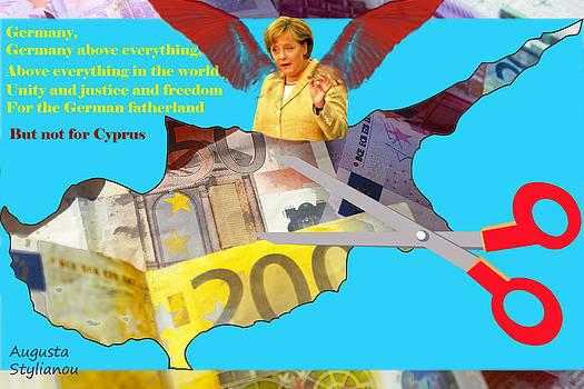 Augusta Stylianou - Angela Merkel Cyprus Haircut