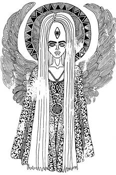 Angelic Awareness  by Joanna Daria Adraktas