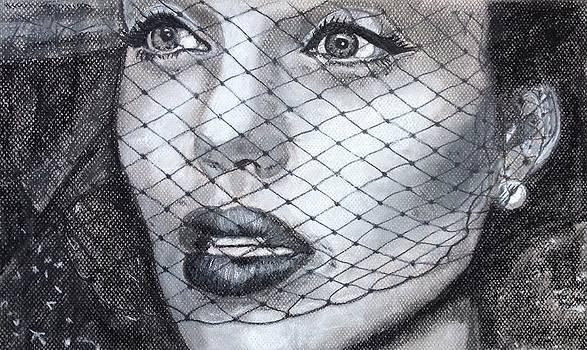 Angelina Jolie  by Lynette Berry