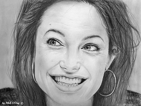 Angelina Jolie by Mick ODay
