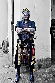 Angelo the Tattoo Man by Sonny Marcyan