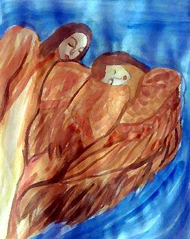 Angels by Farfallina Art -Gabriela Dinca-
