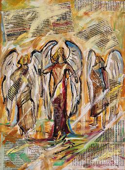 Angels Homecoming by Dariusz Orszulik