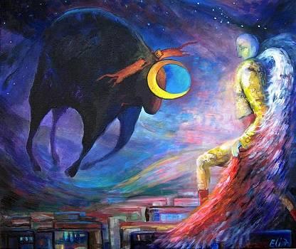 Elisheva Nesis - ANGELS OF ZODIAC TAURUS THE BULL