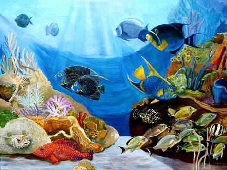 Angels on the Reef by Linda Kegley