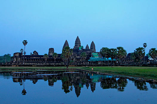 Angkor Wat Reflection by Donald Chen