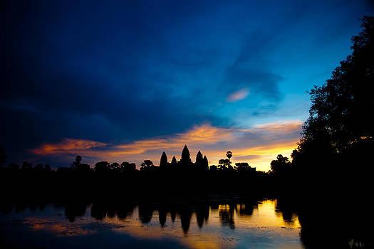 Angkor Wat Sunrise by Thomas Pfeller