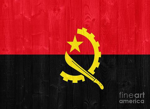 Angola flag by Luis Alvarenga