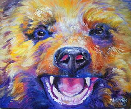 Angry Bear by Kristina Delossantos
