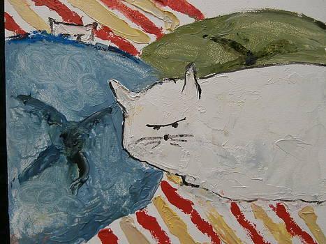 Angry Kitty by Bobbie Frederickson