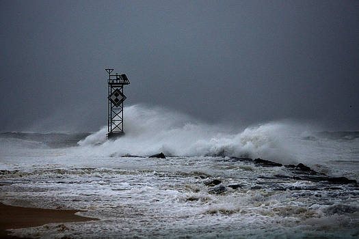 Bill Swartwout Fine Art Photography - Angry Ocean in Ocean City