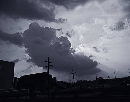 Angry Sky Over New Orleans by Louis Maistros