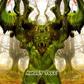 Angry Tree Forest Defender by Heinz G Mielke