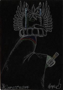 Crow Father Kachina by Dalton James