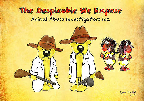 Animal Abuse Investigations Inc. by Ben Isacat