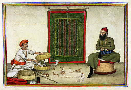 Animal Conjuror In India by British Library