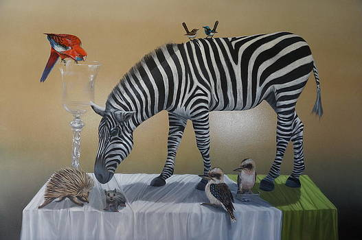 Animal curiosity by Clive Holden
