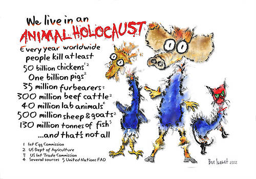 Animal Holocaust by Ben Isacat