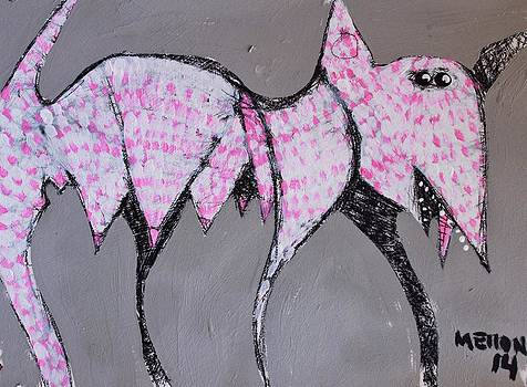 Mark M  Mellon - ANIMALIA Canis with Pink Dots