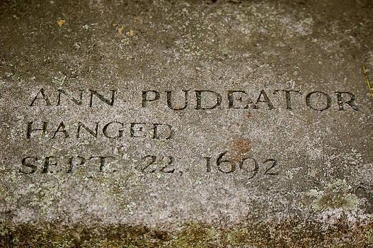 Sherlyn Morefield Gregg - Ann Pudeator Memorial