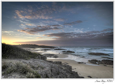 Anna Bay Sunrise by Steve Caldwell