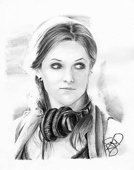 Anna Kendrick by Rosalinda Markle