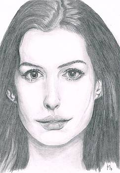 Anne Hathaway by Ryan Jacobson