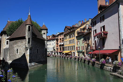 Annecy and Le Thiou by Francesco Scali