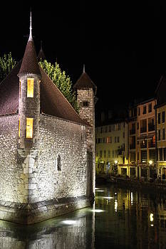 Annecy by night by Francesco Scali