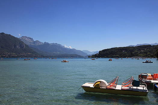 Annecy Lake by Francesco Scali