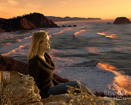 Jon Burch Photography - Annie at the Ocean