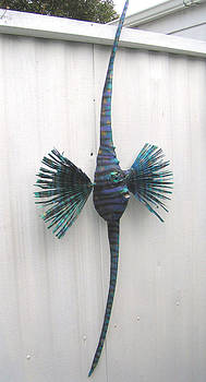 Annie the Angel fish by Dan Townsend