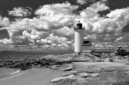 Annisquam Lighthouse Infrared by Liz Mackney