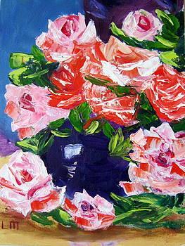 Anniversary Roses by Lia  Marsman