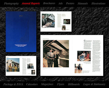 EDS Annual Report Design I did. by Gerald Lambert
