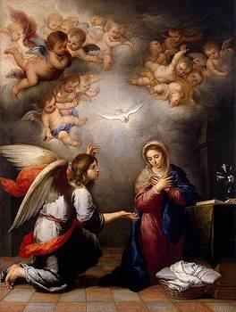 Annunciation by Murillo