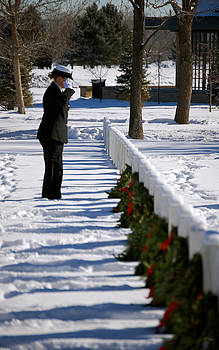 Sherlyn Morefield Gregg - Another Grave Another Wreath Another Salute