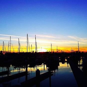 Another Great #sunset In #venturaharbor by Tristan Thames