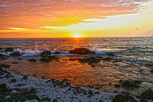 Another Hawaiian Day Ends by Michael Misciagno
