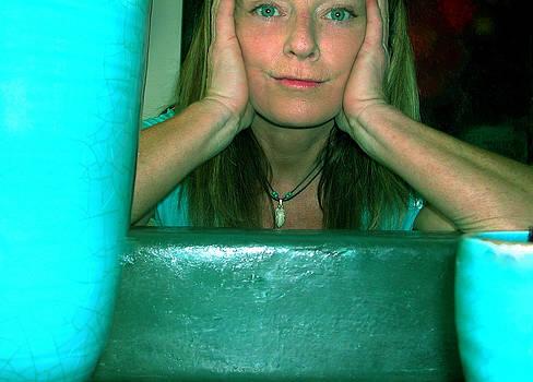 Colette V Hera  Guggenheim  - Another Life Reflection Moment 2005