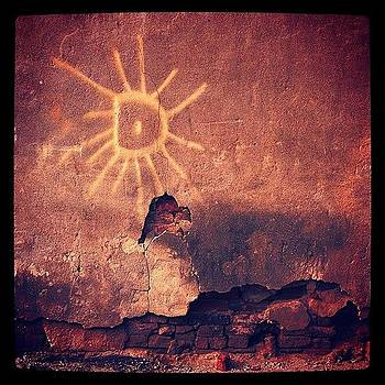 Another Piece Of #solar #graffiti, This by John Baccile